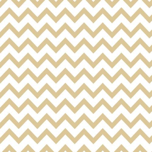 Papel De Parede Adesivo Chevron - Chevron Listra Zigzag Dourado Branco