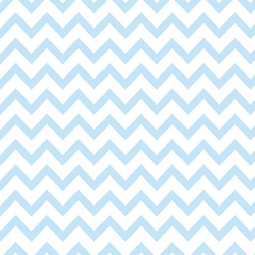 Papel De Parede Adesivo Chevron - Chevron Listras Zigzag Azul Céu