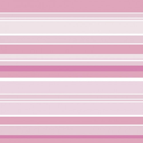 Papel De Parede Adesivo Listrado - Listras Tons Rosas Branco