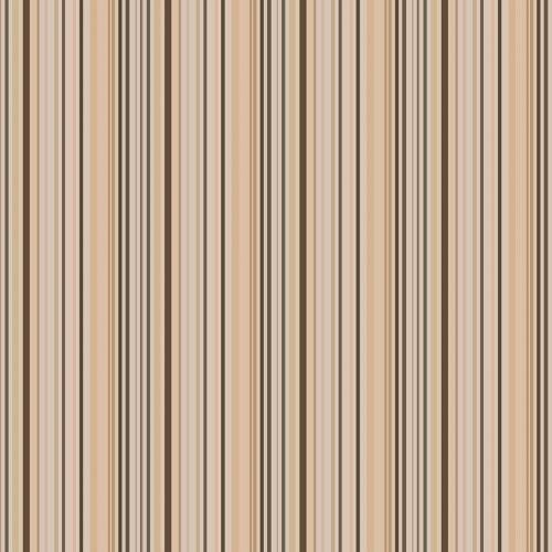 Papel De Parede Adesivo Listrado -  Listras Marrom Tons Nude