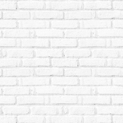 Papel De Parede Adesivo 3d Tijolo - Tijolinho a Vista Branco Premium