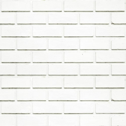 Papel De Parede Adesivo 3d Tijolo - Tijolinho a Vista Clean Branco