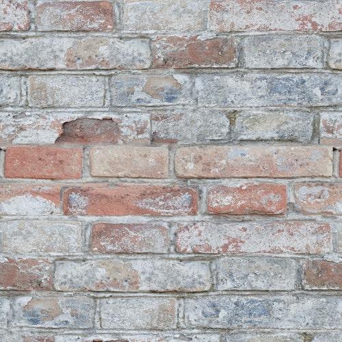 Papel De Parede Tijolo - Tijolinhos a Vista Demolição Cimento