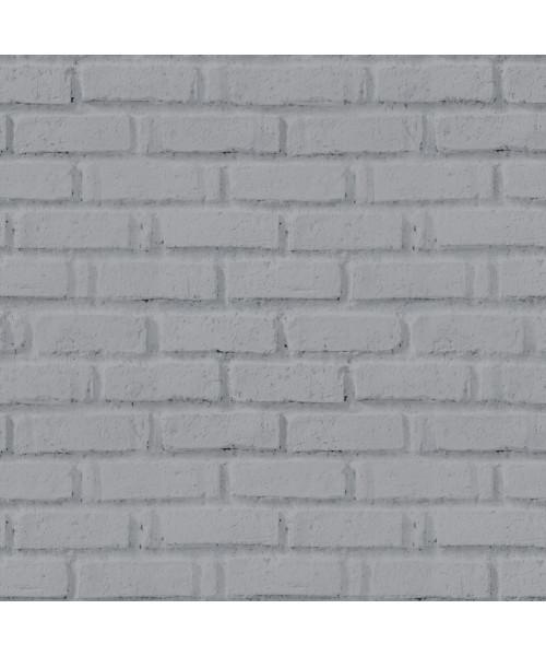 Papel De Parede Adesivo 3d Tijolo - Tijolinho Cinza