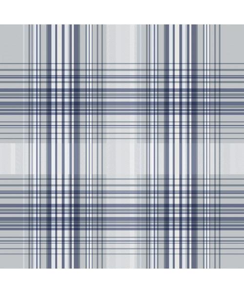 Papel De Parede Adesivo Xadrez -  Xadrez Tons De Azul