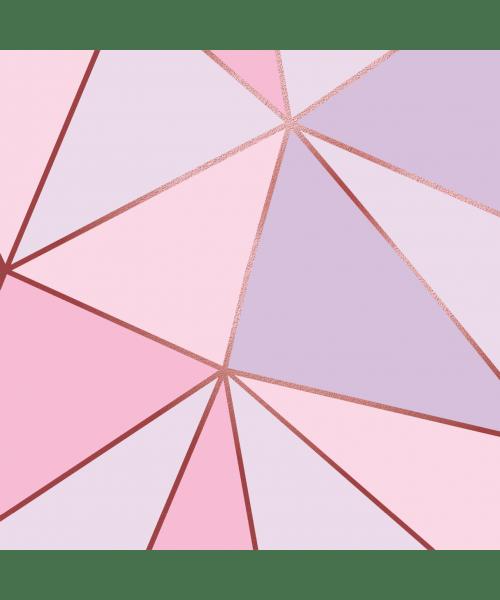 Papel De Parede Adesivo Vinílico Zara - Zara Rosa